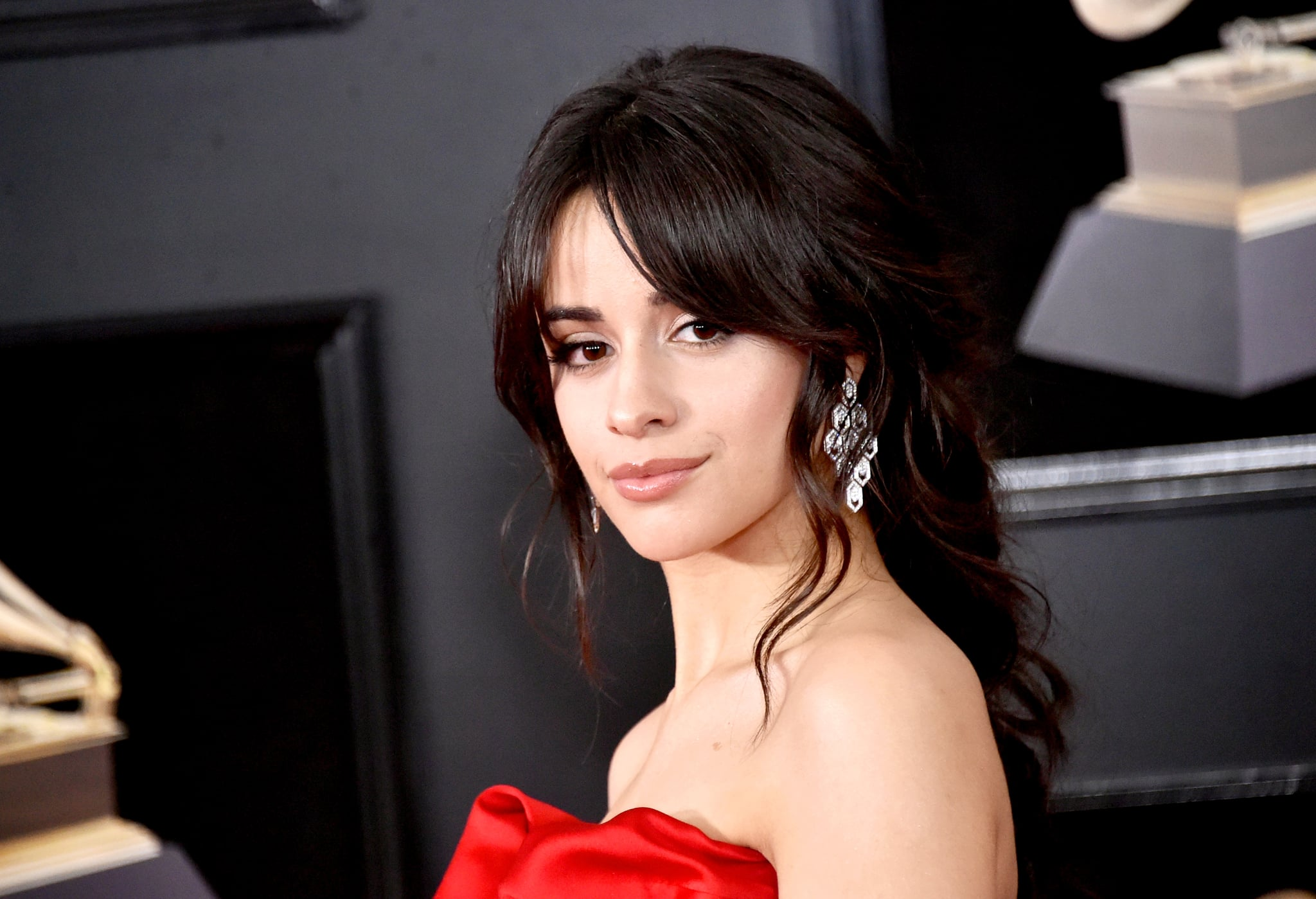 NEW YORK, NY - JANUARY 28:  Recording artist Camila Cabello attends the 60th Annual GRAMMY Awards at Madison Square Garden on January 28, 2018 in New York City.  (Photo by Mike Coppola/FilmMagic)