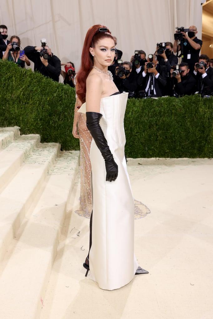 See Gigi Hadid's Red Hair at the 2021 Met Gala