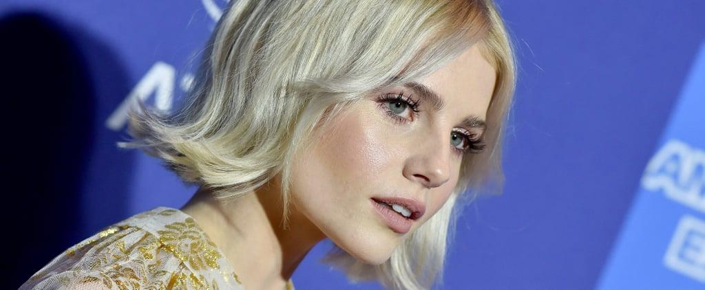 Lucy Boynton Award Season Makeup 2019
