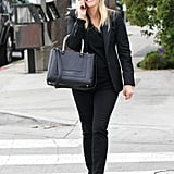 Reese Witherspoon laughed while chatting on her phone in LA.