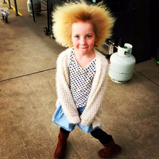 Little Girl Doesn't Care About Her Uncombable Hair Syndrome