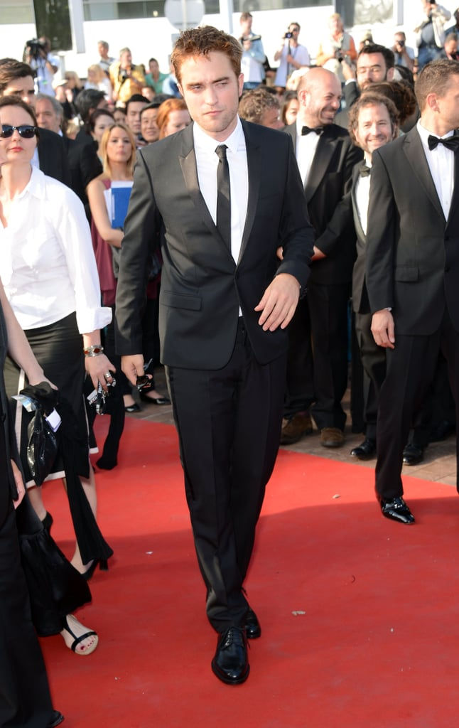 Robert Pattinson walked the red carpet for the On the Road premiere at the Cannes Film Festival.