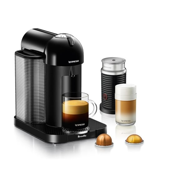 Nespresso Vertuo Coffee Maker & Espresso Machine by Breville With Aeroccino