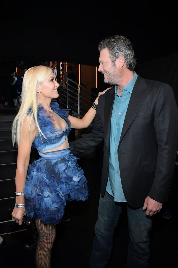 Blake Shelton & Gwen Stefani at 2017 People's Choice Awards