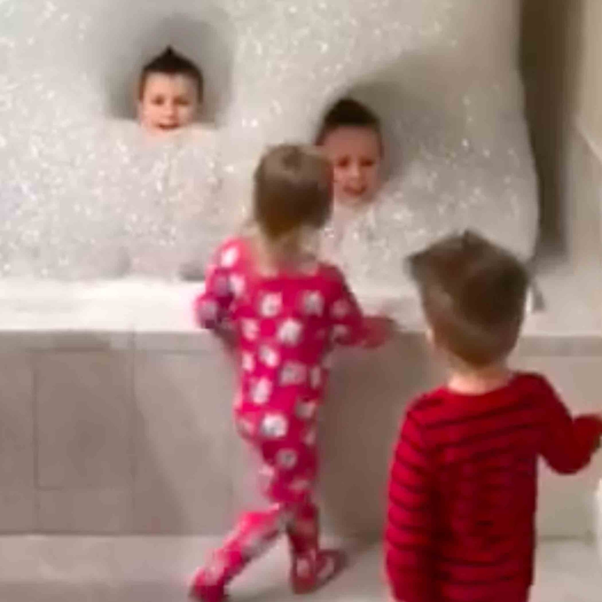 Dad Makes Giant Bath For His Kids | POPSUGAR Moms