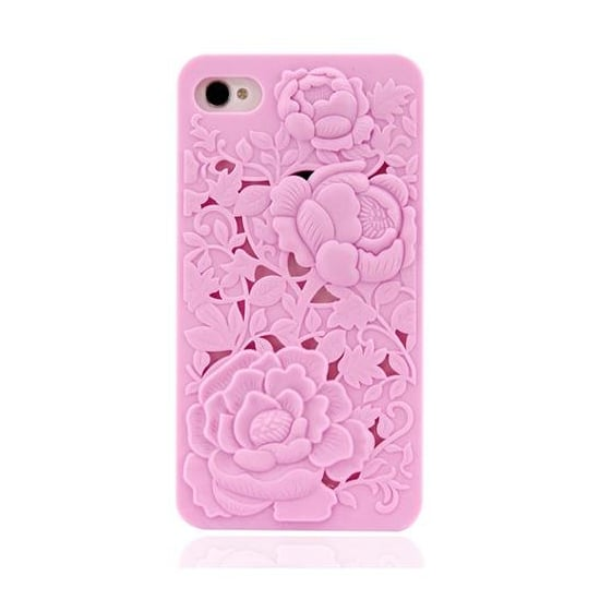 3D Floral iPhone 4 Case