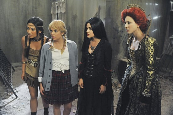 See the Pretty Little Liars Dressed Up For Halloween!