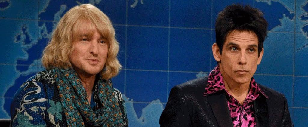 Zoolander's Ben Stiller and Owen Wilson SNL Skit | Video