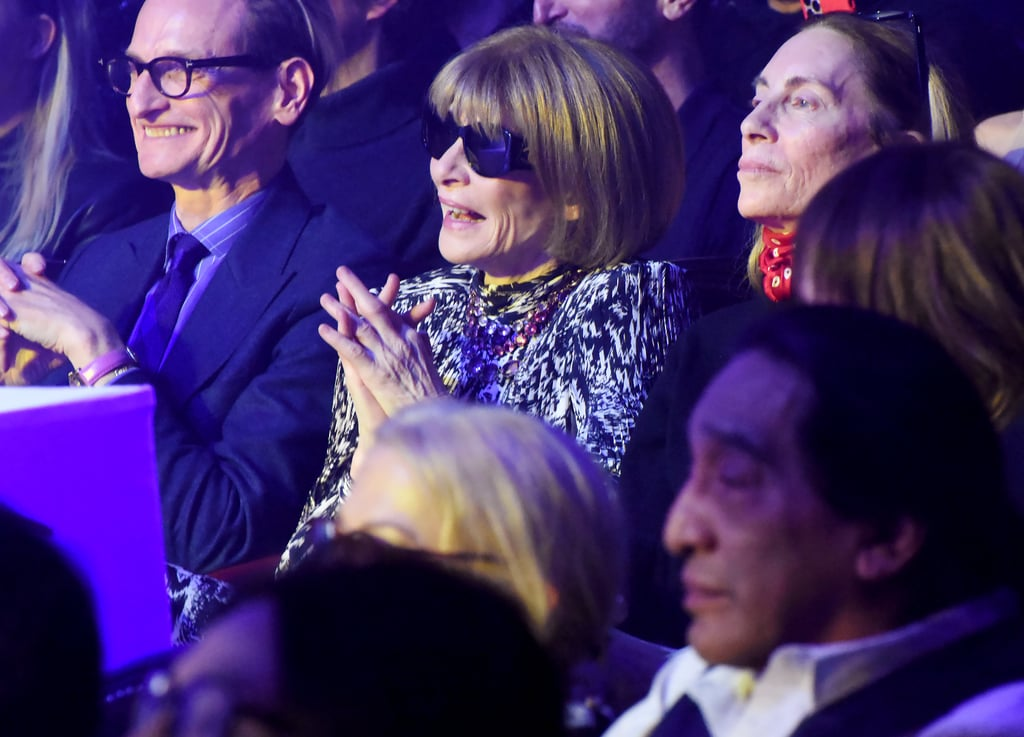 Anna Wintour in the Front Row at the Jean Paul Gaultier Show