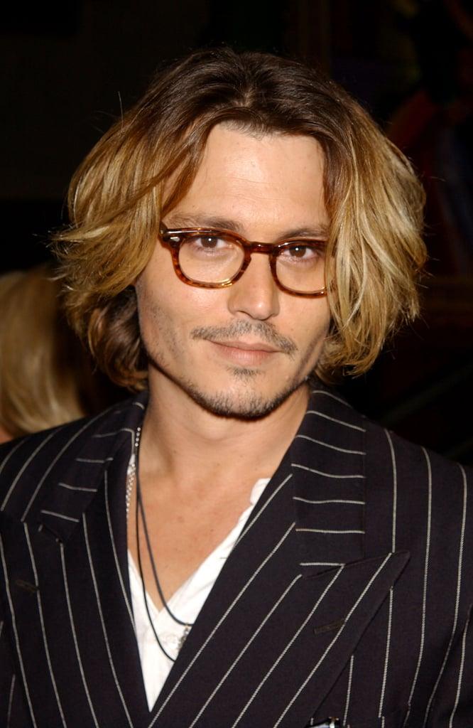 Johnny Depp Male Celebrities With Long Hair Popsugar