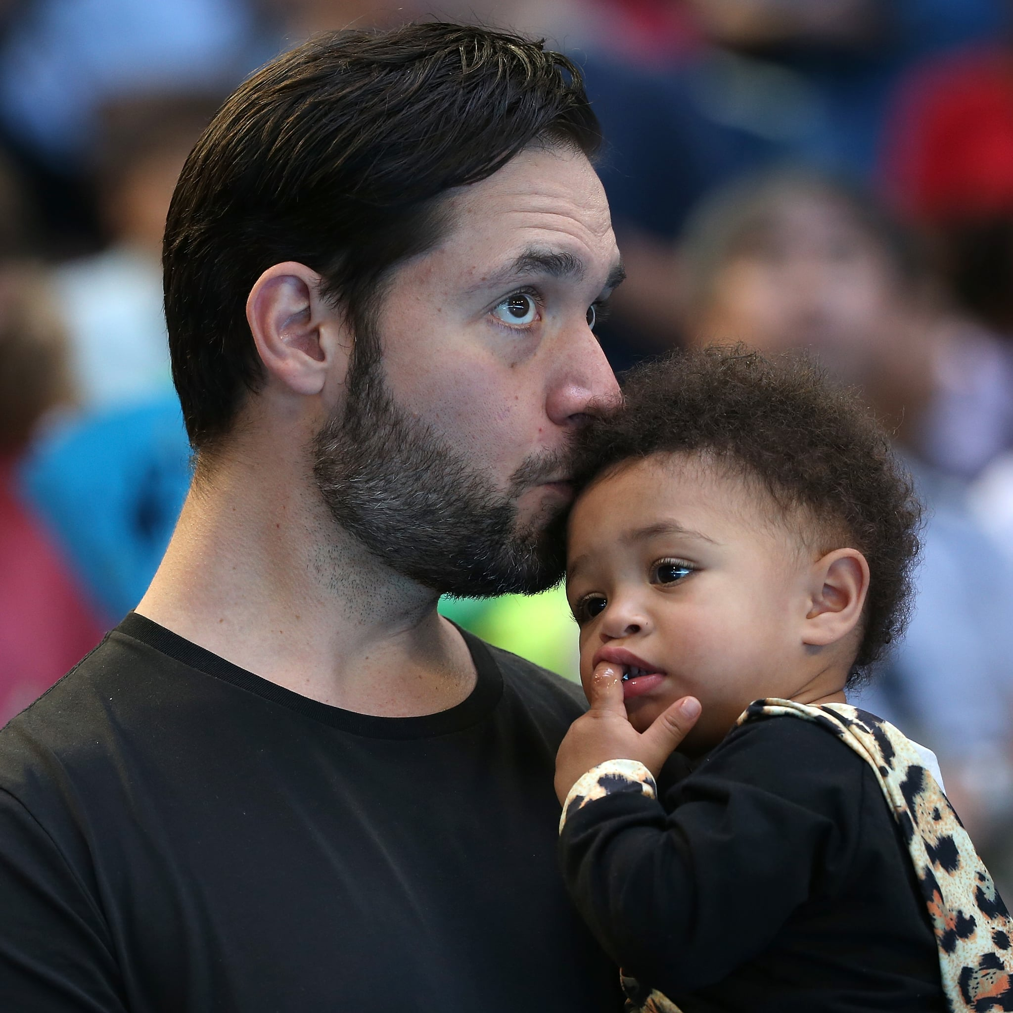 Alexis Ohanian Talks About Doing His Daughter's Hair | POPSUGAR UK Parenting