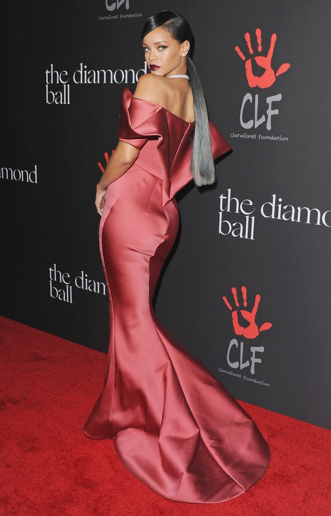 Rihanna at the 2014 Diamond Ball