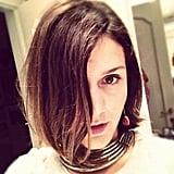 Margherita Missoni showed off a cool collar necklace. Source: Instagram user mmmargherita