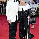 Margot Robbie popped up behind Hugh Jackman and his wife, Deborra-Lee Furness.