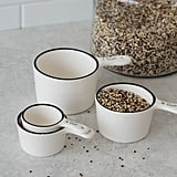 Ceramic Black Rim Measuring Spoon Set