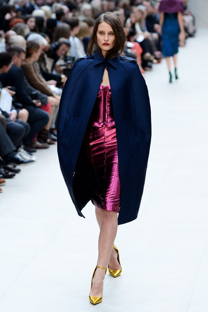 2013 Spring London Fashion Week: Burberry Prorsum