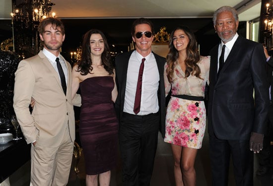 Pictures of Chace Crawford, Rachel Weisz, Matthew McConaughey, Camila Alves, Peaches Geldof, Duffy at D&G Menswear in Milan 2010-06-21 07:00:00
