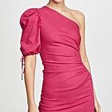 Jonathan Simkhai One-Shoulder Denim Dress