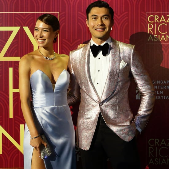 Henry Golding and Wife Liv Lo at Crazy Rich Asians Premiere