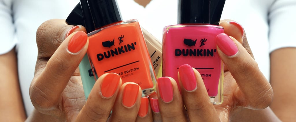 Dunkin' Donuts Nail Polish Collection