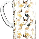Rosanna Flamingo Glass Pitcher ($78)