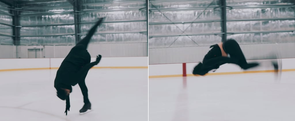 "Cordero Zuckerman's ""Bury a Friend"" Ice Skating Choreography"