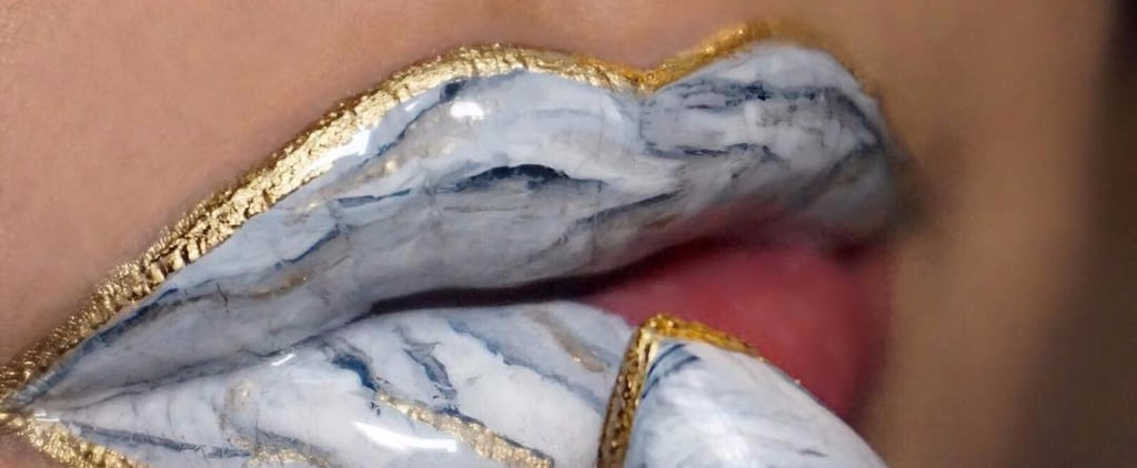 Marble Lips Are the Mesmerising Makeup Trend We Can't Get Enough Of