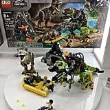 Lego Jurassic World T.Rex vs. Dino-Mech Battle