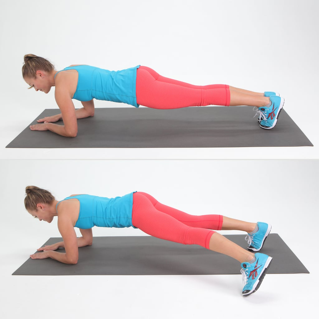 Number 2: Plank With Side Step