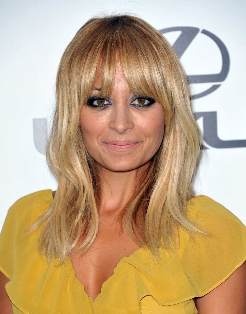 Nicole Richie selected a bold eye for the night's look ...