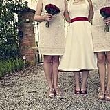 '50s-Style Wedding Dress