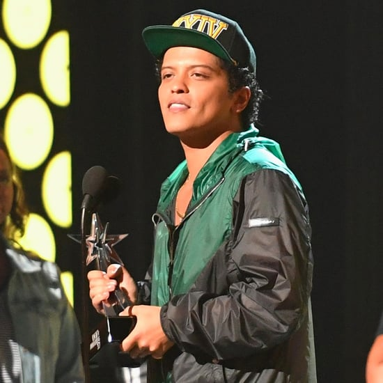 Bruno Mars Falling Asleep at the BET Awards 2017