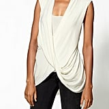 Trade in your button-down for a gorgeous piece to top your jeans or pencil skirt. This