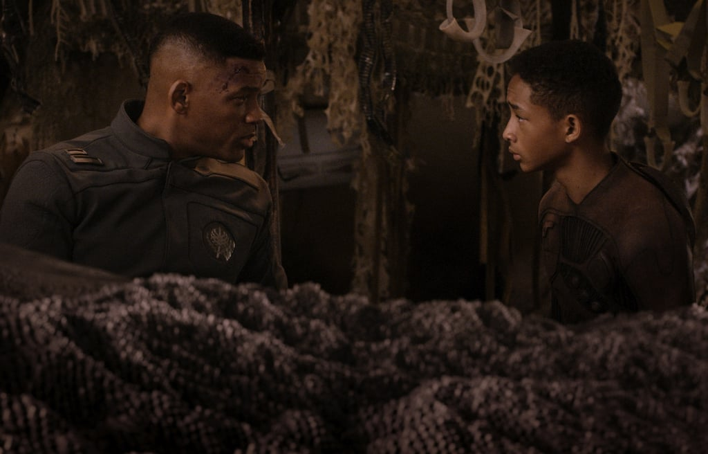 After Earth  Who's starring: Will Smith and Jaden Smith Why we're interested: Jaden was so small and cute when he starred with dad Will in 2006's The Pursuit of Happyness, and we're eager to see them reteamed now that Jaden is all grown up. There are a lot of postapocalyptic movies coming out this year, but this one may have more emotional resonance, since the Smiths play a father and son trying to survive on a demolished Earth. When it opens: May 31  Watch the trailer for After Earth.