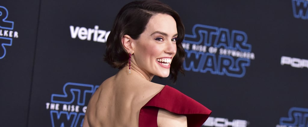 Daisy Ridley's Red Gown at Star Wars: The Rise of Skywalker