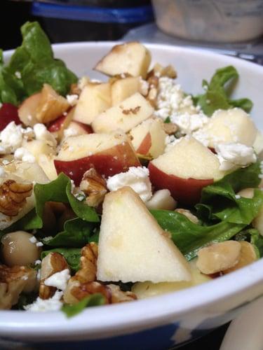 Easy Apple-Walnut Chicken Salad