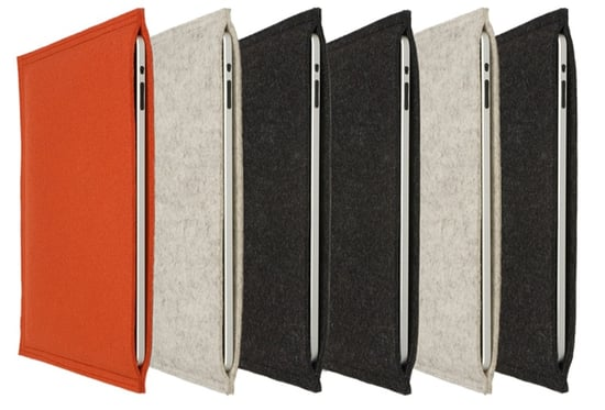 Wool iPad and MacBook Air Sleeves