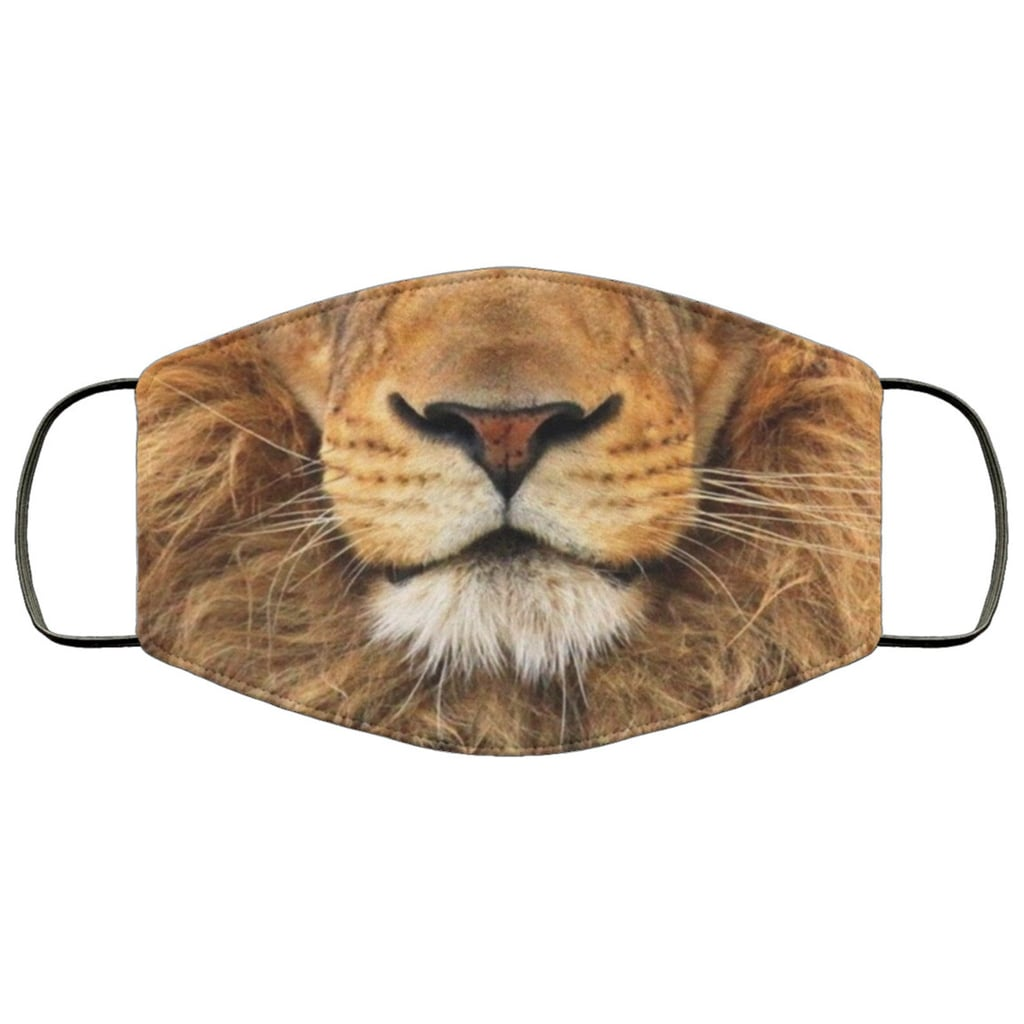 Lion 3-Layer Face Mask