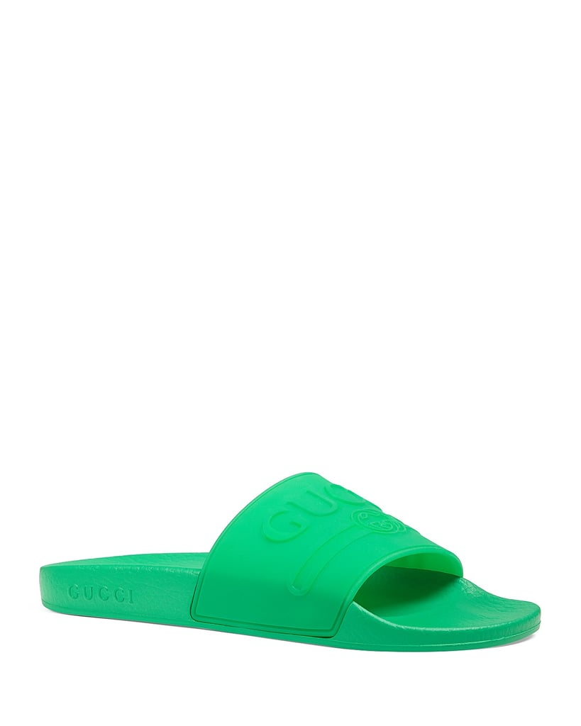 3b29f48f5f077a Gucci Women s Logo Slide Sandals