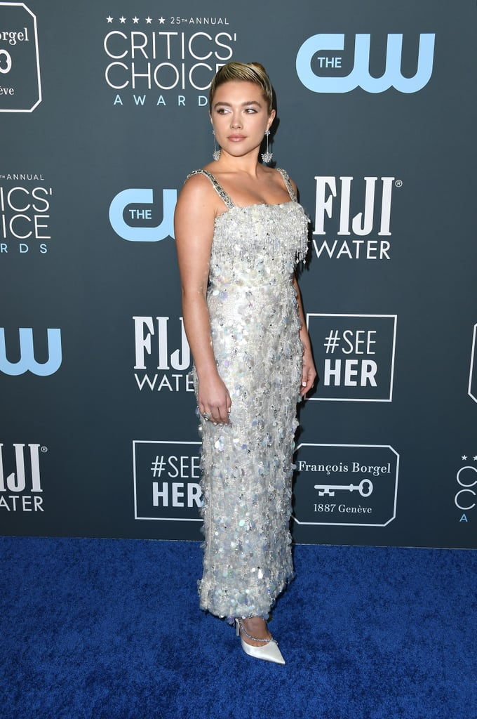 Florence Pugh's Prada Dress at the Critics' Choice Awards