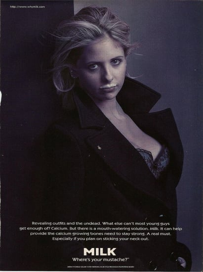 Sarah-Michelle-Gellar-starred-ad-her-own-while-Buffy