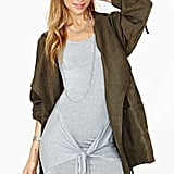 Nasty Gal's All Tied Up dress ($42) makes getting the downtown-girl look easy.