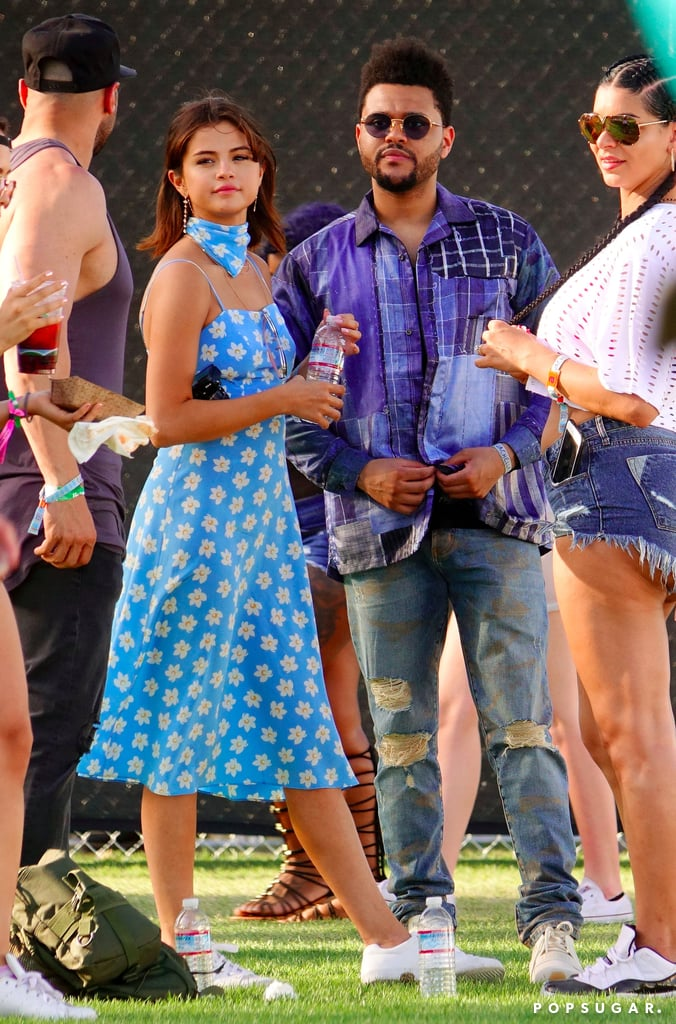 Selena Gomez HVN Dress at Coachella