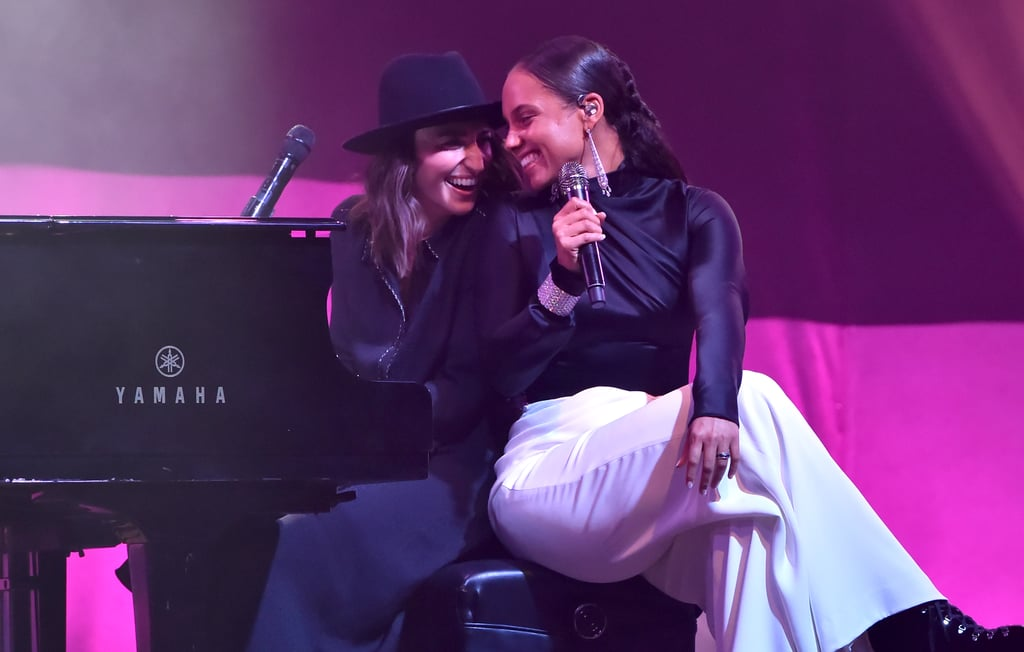 Watch Alicia Keys and Sara Bareilles's Dueling Pianos Duet