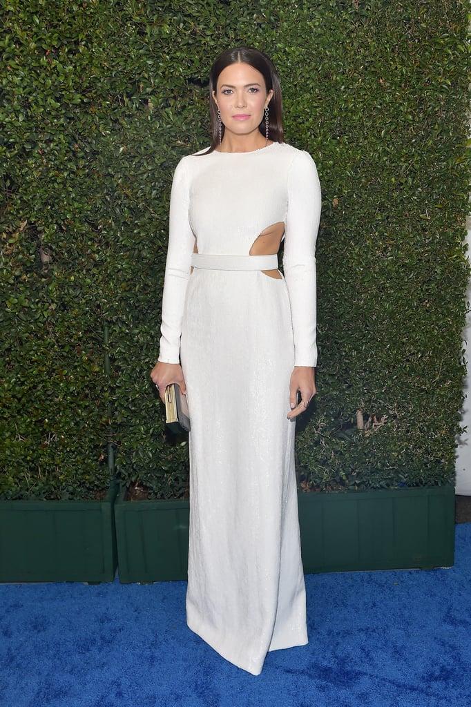 Mandy Mooreat the 2019 Critics' Choice Awards
