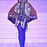 Indira Scott on the Jean-Paul Gaultier Runway