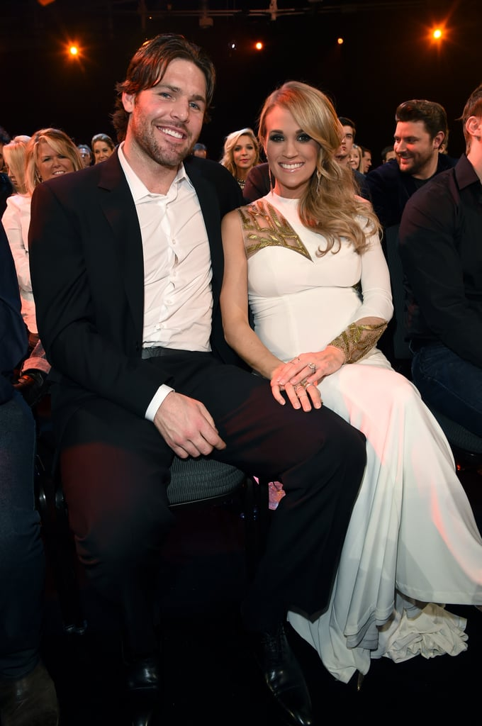 The duo dressed up for the American Country Countdown Awards in Nashville in December 2014.