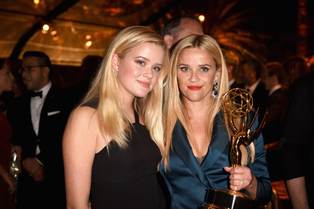 Reese Witherspoon and Ava Phillippe at 2017 Emmys Afterparty
