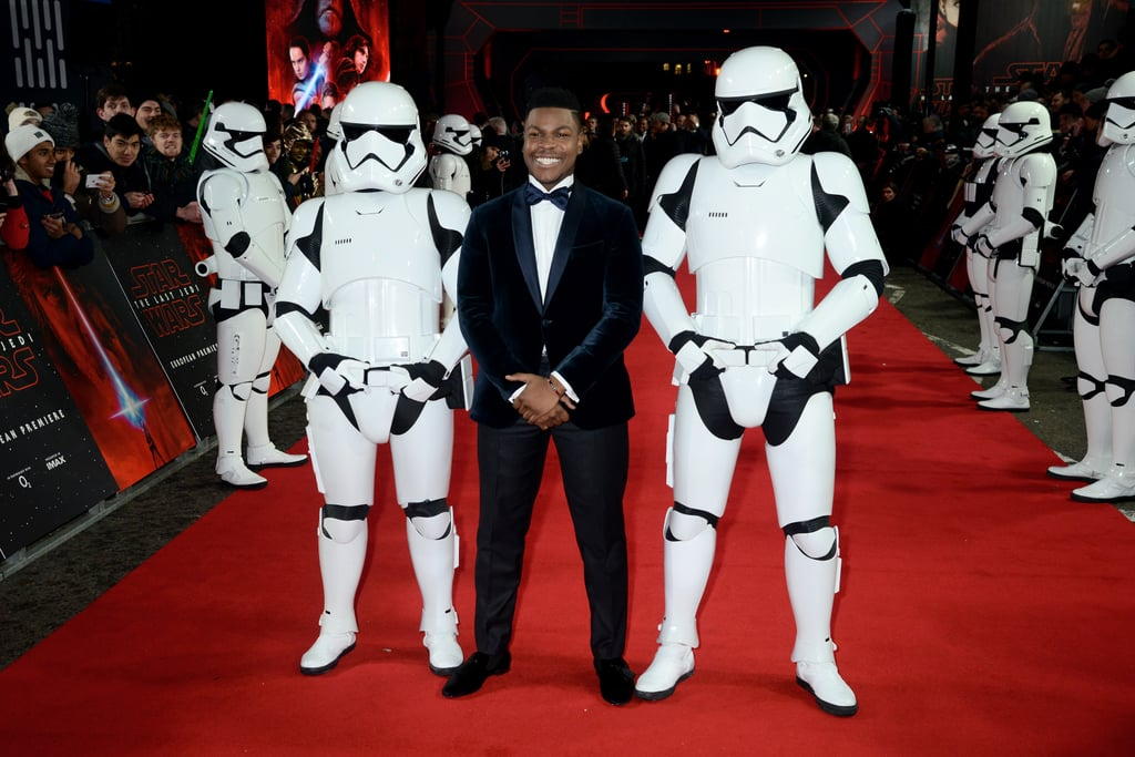 Tuesday night marked the European premiere of the much-anticipated Star Wars: The Last Jedi in London, following the LA premiere on Saturday — and the mood was electric! A Stormtrooper-lined red carpet made way for a number of ethereal beings, from Prince Harry and Prince William chaperoning BB-8 to John Boyega and the entirety of his family, who looked just as excited as he did. Warm up those vocal chords because these pictures will no doubt have you screaming like a porg. Star Wars: The Last Jedi hits cinemas on Dec 14.