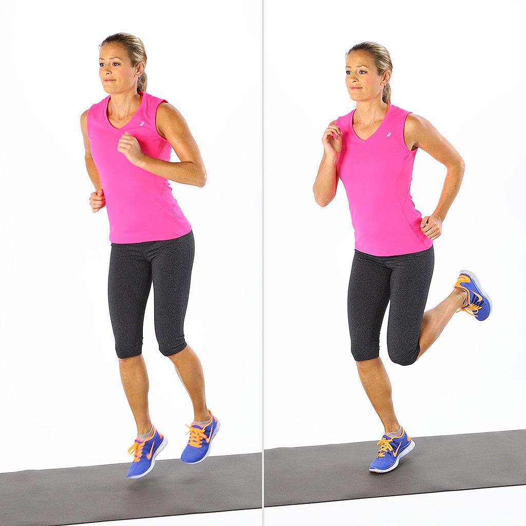 Warmup, Exercise 3: Butt Kick